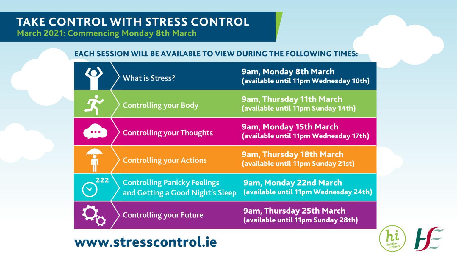 HSE Stress Control Online