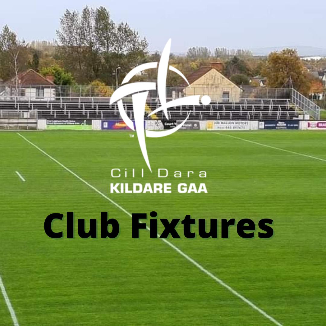 Kildare GAA Club Fixtures 11th – 21st October
